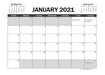 2021 Calendar Nz Photos