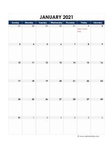 2021 Hong Kong Calendar Spreadsheet Template