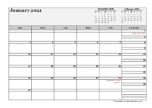 2021 Malaysia Calendar For Vacation Tracking