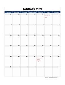 2021 Malaysia Calendar Spreadsheet Template