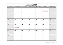 September 2021 Printable Calendar