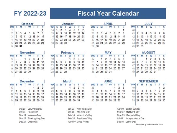 Jewish Calendar 2022 2023.2022 2023 Fiscal Planner Us Free Printable Templates