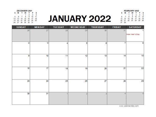2022 Calendar Planner Pakistan Excel