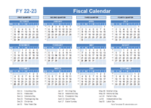 Fiscal Planner Template 2022