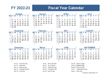 2022-2023 Fiscal Planner US