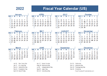 2022 Fiscal Planner USA