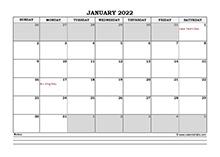 June 2022 Planner Excel