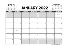 May 2022 Calendar Excel