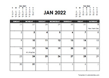 May 2022 Calendar Free Printable